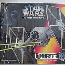 Kenner Star Wars The Power Of The Force 3.75吋 ( Tie Fighter )只拆盒拍照