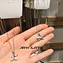 ✿拿鐵小姐MISS LATTE✿正韓✿韓國連線✿韓製 韓國東大門  海豚尾巴幸運項鏈守護愛情人魚之尾頸鏈鎖骨鏈項鏈