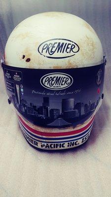 全新 意大利 復古 Premier 頭盔 大碼 電單車 59-60CM