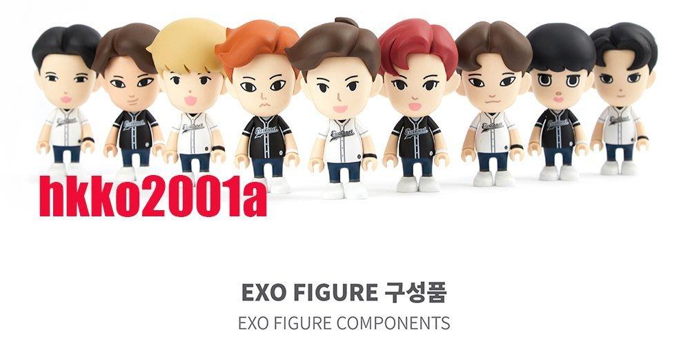 贈驚喜包 EXO [ Exoplanet 公仔 ] (11cm,分團員 ) -hkko2001a-官方週邊 Figure