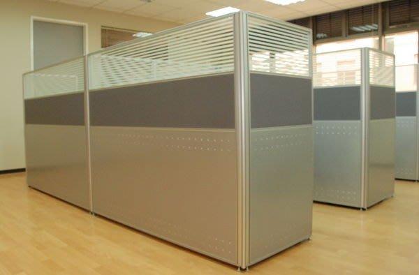 ∮典石空間∮ 鋁合金2.5CM薄型屏風,免費提供辦公室規劃設計。