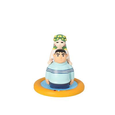 哈哈日貨小舖~日本 代購 哆啦A夢 未來百貨公司 限定 胖虎 樵夫之泉 公仔 模型 玩具