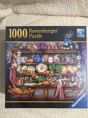 [Ravernsburger] 德國原裝進口拼圖China Cupboard 1000片 全新未拆封 德國製 made in Germany