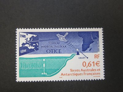 【雲品】法屬南方和南極領地French southern antarctic 2003 Sc 319 set MNH 庫號#63304