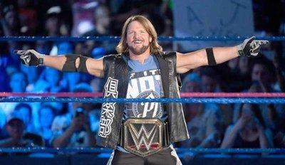 ☆阿Su倉庫☆WWE摔角 WWE Championship Replica Title Belt 新WWE冠軍腰帶金屬版