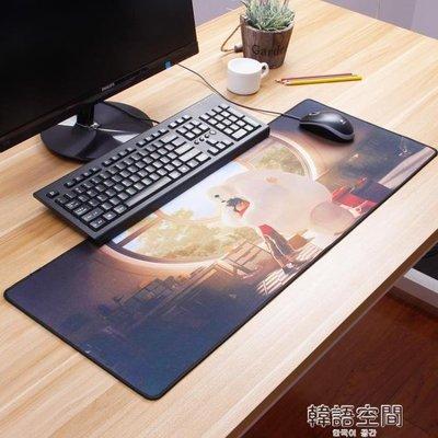 999滑鼠桌墊大號小號筆記本電腦鍵盤辦公遊戲電競絕地求生動漫膠墊   韓語空間 YTL下單後請備註顏色尺寸
