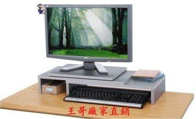 【王哥】新款可伸縮旋轉式防水桌上型置物架(兩色可選) /桌上架/ 電腦螢幕架 電視櫃WG-23112311