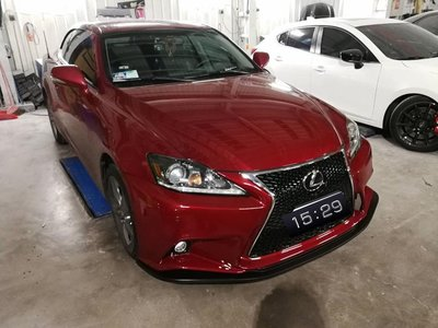 【耀天國際】Lexus IS250 改新款 is250 is300 前保桿(P.P材質)含水箱罩及霧燈