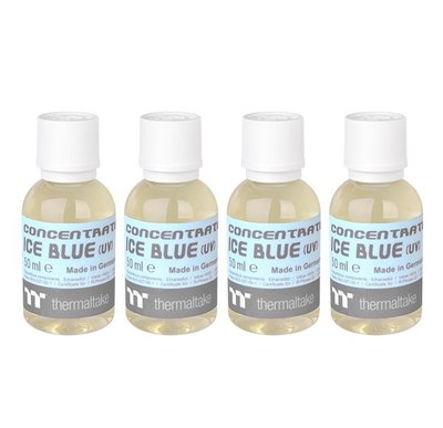 小白的生活工場*Thermaltake TT Premium Concentrate水冷液 – 冰藍 (四罐濃縮液包裝)