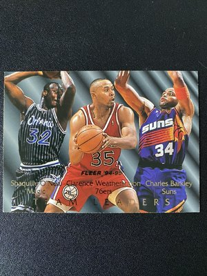 Shaquille O'Neal 1994-95 Fleer Team Leaders