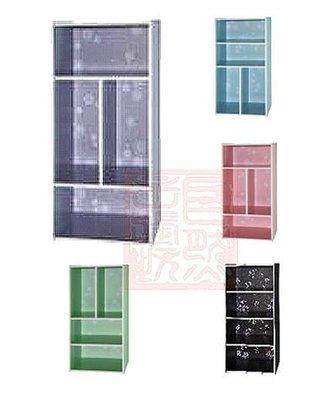 [自然傢俱坊]-365-GZ坊-四格收納櫃[DIY]-3M-81084(灰.紅.黑.綠.藍)-(非偏遠免運費)