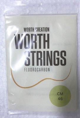 【山姆 樂器工作室】買1送1!! 日本Worth String烏克麗麗透明弦 CM 21/23吋