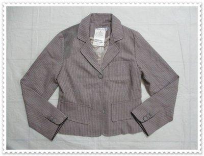 ~ 東京魔女小鋪 ~   未拆~DOCH~直條紋 短版外套 SIZE:M ~ J58