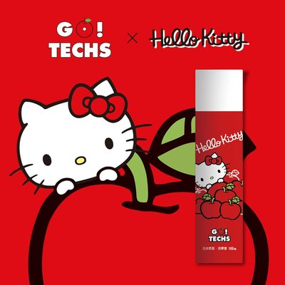 Ballerina-GO!TECHS x Hello Kitty防水噴霧(1罐入)-蘋果香【TKL20217L1】