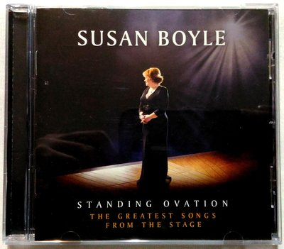【阿貝全新靚碟】蘇珊波爾 Susan Boyle / 星光喝采 音樂劇禮讚 Standing Ovation / 美版