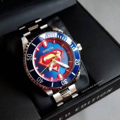 INVICTA & DC正義聯盟聯名 限量超人款 自動上鍊機械錶 IN-26896