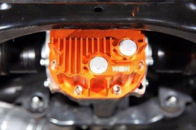 SUMMIT鋁合金後差速器油底殼TOYOTA GT 86/FRS/GR/BRZ(橘/金/紅/藍/紫)
