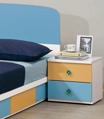 CH137-4 艾文斯1.5尺床頭櫃/大台北地區/系統家具/沙發/床墊/茶几/高低櫃/1元起