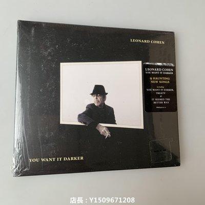第五DVD店 Leonard Cohen You Want It Darker  2016年最后專輯 全新盒裝 兩部免運