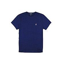 【RALPH LAUREN】【POLO RL】【零碼XL】男童短袖素T白小馬深藍 F09160617-01