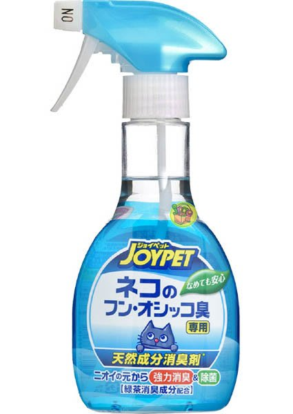 【JPGO】預購-日本製 JOYPET 寵物用 貓砂消臭除菌噴霧 270ml #181