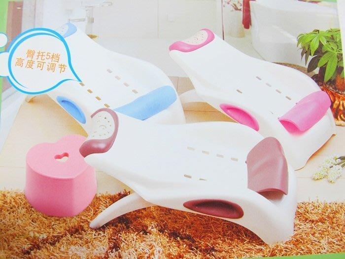 【阿LIN】175397 兒童洗頭椅 1568 彩盒 幼兒 嬰幼童 衛浴 清潔 共 粉 藍 兩色可選