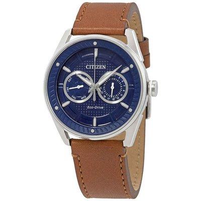 【換日線】男錶 Citizen CTO Navy Blue Dial Men's Watch BU4020-01L