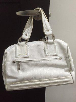 降價 WHY 白色 手提包  手挽包