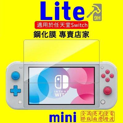 Nintendo Switch / Switch Lite 9H 鋼化玻璃保護貼 2.5D弧邊 疏水疏油 超滑順