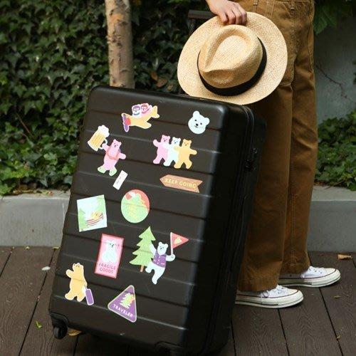 ♀高麗妹♀韓國 Dailylike CARRIES STICKER 行李箱/筆電.. 防水無痕 個性化裝飾貼紙(預購)
