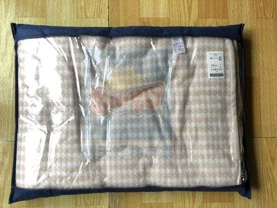 現貨不用等 妮芙露 Nefful 負離子(薄)雙人毛毯 BI 062   淺褐色千鳥紋