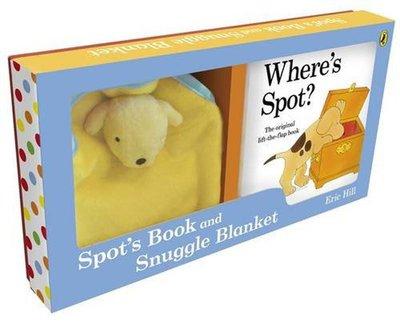*小貝比的家*SPOT'S BOOK AND SNUGGLE BLANKET/硬頁書+TOY/0~2歲