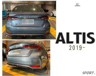 JY MOTOR 車身套件 - ALTIS 19 20 2019 2020 年 12代 運動版 尾翼 鴨尾 壓尾 含烤漆 高雄市