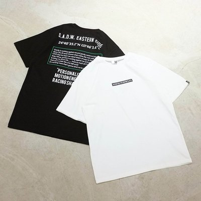 【車庫服飾】SHADOW LONGITUDE TEE 短T 台灣緯度 圖樣 插畫 純棉短T