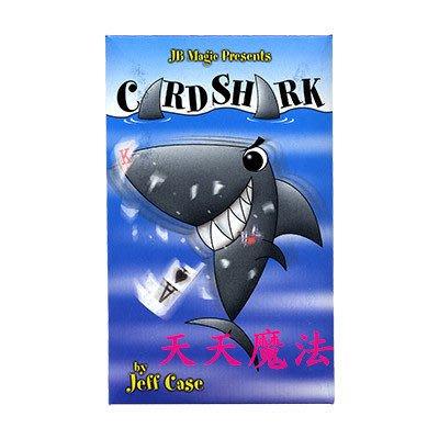 【天天魔法】【S093】正宗原廠道具~鯊魚找牌(Card Shark by Jeff Case and JB Magic)