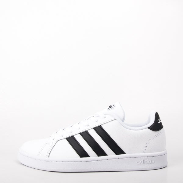 ADIDAS GRAND COURT NEO 復古休閒鞋-白/黑 大尺碼 F36392  現貨