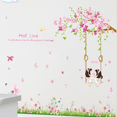 創意壁貼-櫻花 LC7012-184【AF01013-184】