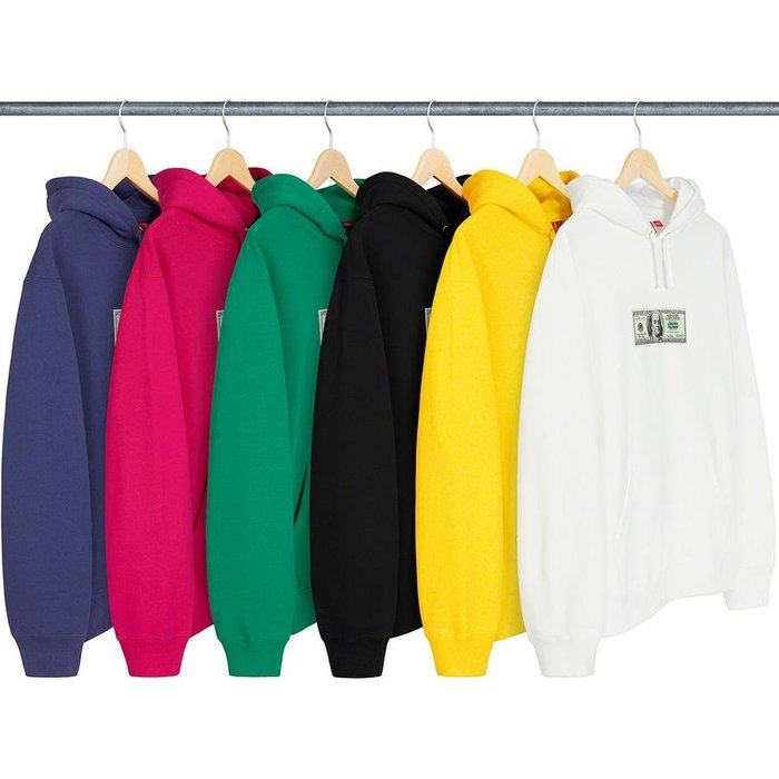 【紐約范特西】預購 SUPREME SS20 Franklin Hooded Sweatshirt 美金 帽TEE