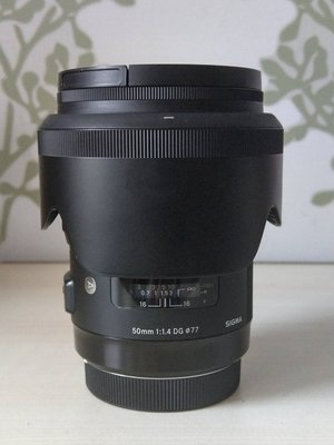 SIGMA 50mm F1.4 DG HSM ART For Canon