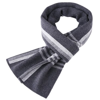 圍巾 羊毛 披肩-格子保暖針織百搭男配件4色73wh35[獨家進口][米蘭精品]