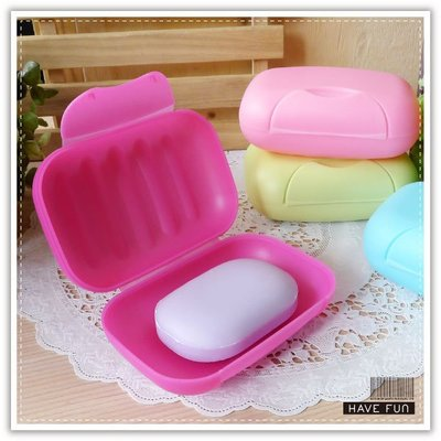 【贈品禮品】B2224 旅行皂盒/ 出差密封帶蓋肥皂盒/便攜香皂盒/有鎖扣防水防漏肥皂盒/肥皂盤