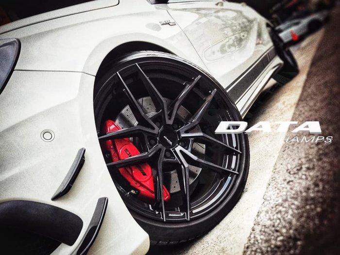 【凱達輪胎鋁圈館】DATA FF04 18吋 旋壓輕量化 5/114.3 大卡鉗好閃 各車系歡迎訊問