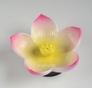 INPHIC-宗教 手工彩繪插香器 陶瓷佛具 陶瓷熏香器蓮花香插