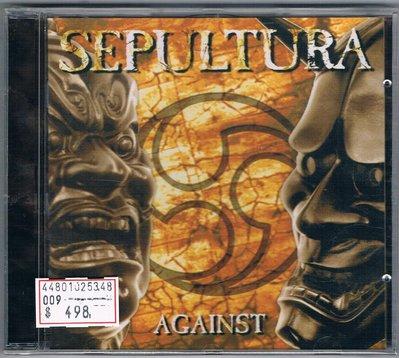 [鑫隆音樂]西洋CD-神碑合唱團 Sepultura:AGAINST(RR87002)全新/免競標