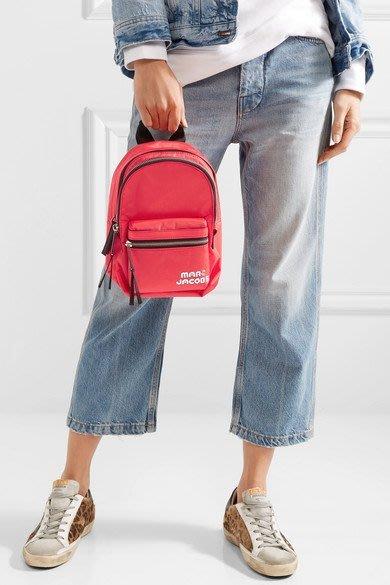 Coco 小舖 MARC JACOBS Trek Pack Mini Nylon Backpack 紅色迷你尼龍後背包