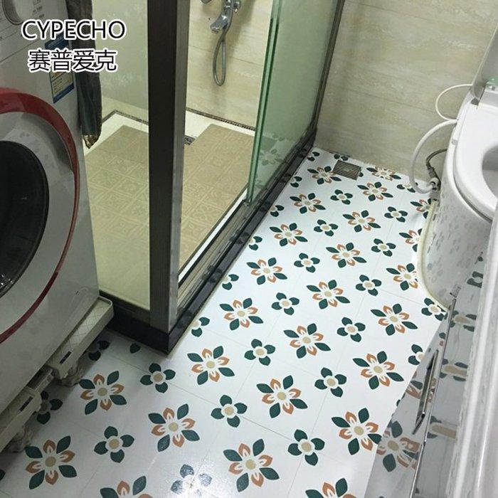 預售款-LKQJD-衛生間防水防滑地貼 自粘墻貼墻紙 廚房瓷磚貼紙防油防污地板貼