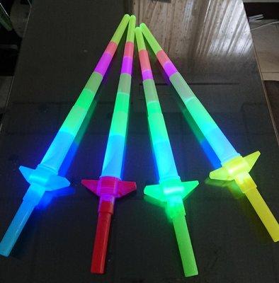 發光棒 螢光棒 伸縮螢光棒 光劍 夜晚活動商品