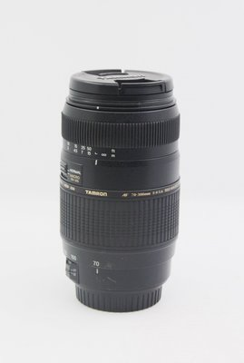【青蘋果】TAMRON  AF70-300mm F4-5.6 For CANON二手 鏡頭 #NL234
