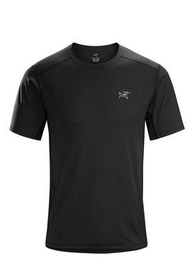 Arcteryx 始祖鳥 ETHER CREW SS 男款S號 黑色