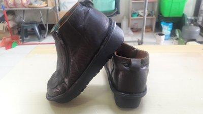 MACANNA麥坎納小羊皮短靴環保鞋子氧化分解製作新鞋底 修鞋 換大底 底部脫落 壞掉 鞋底 氧化 分解 黏鞋